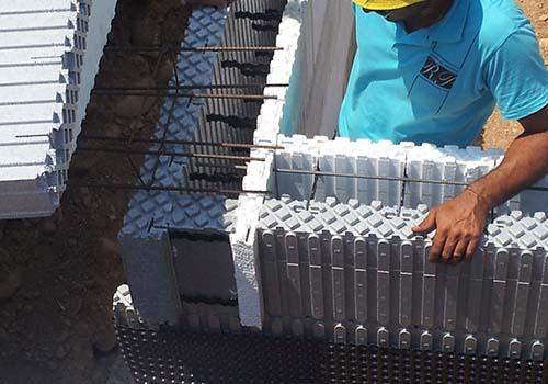 Construire en coffrages isolants